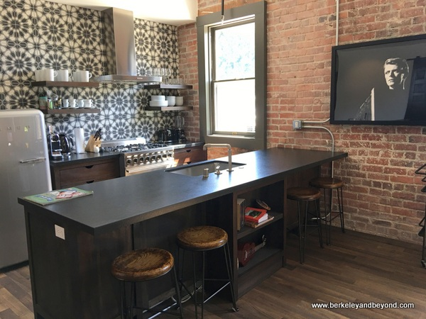 kitchen at The Lofts at SLO Brew in San Luis Obispo, California