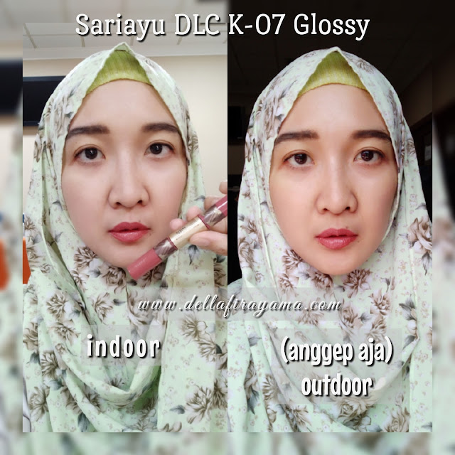 Sariayu Duo Lip Colour Krakatau (DLC K-07)