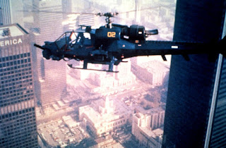 helicopter in Blue Thunder 1983 movie