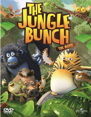 Poster Of The Jungle Bunch: The Movie 2011 Hindi Dual Audio 230MB BRRip 720p HEVC Free Download Watch Online downloadhub.in