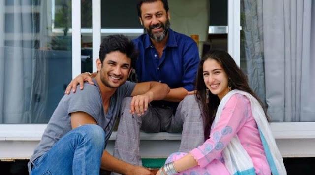 Abhishek with 'Kedarnath' actors Sara & Sushant
