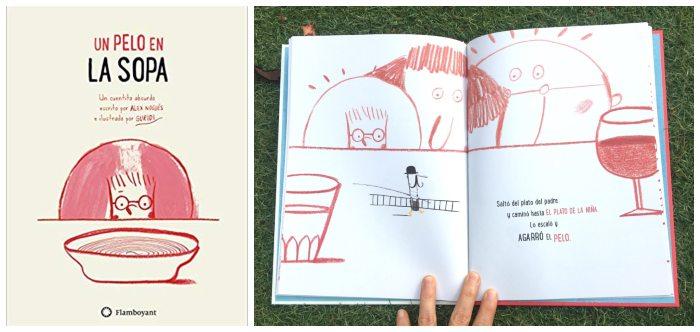cuento infantil niños 3 a 5 años Un pelo en la sopa Flamboyant
