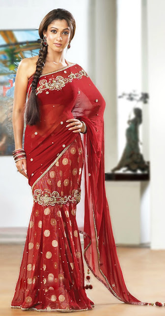 Actress Nayantara Saree Collection