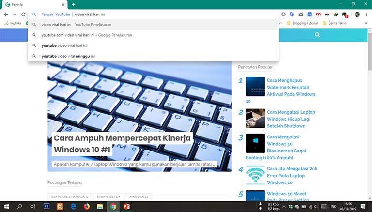 Inilah Fitur Tersembunyi Google Chrome Yang Bisa Bikin Internetan Makin Asyik