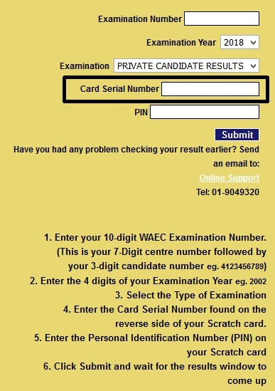 How to check WAEC result using computer