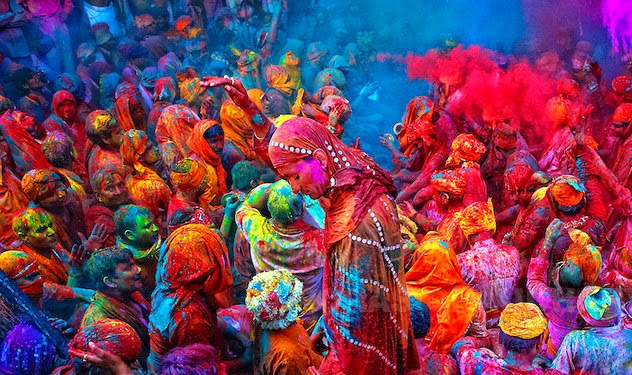happy holi sms in english