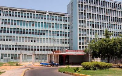 Hospital Universitario, Disteria