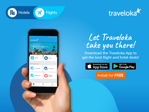 Install App Traveloka