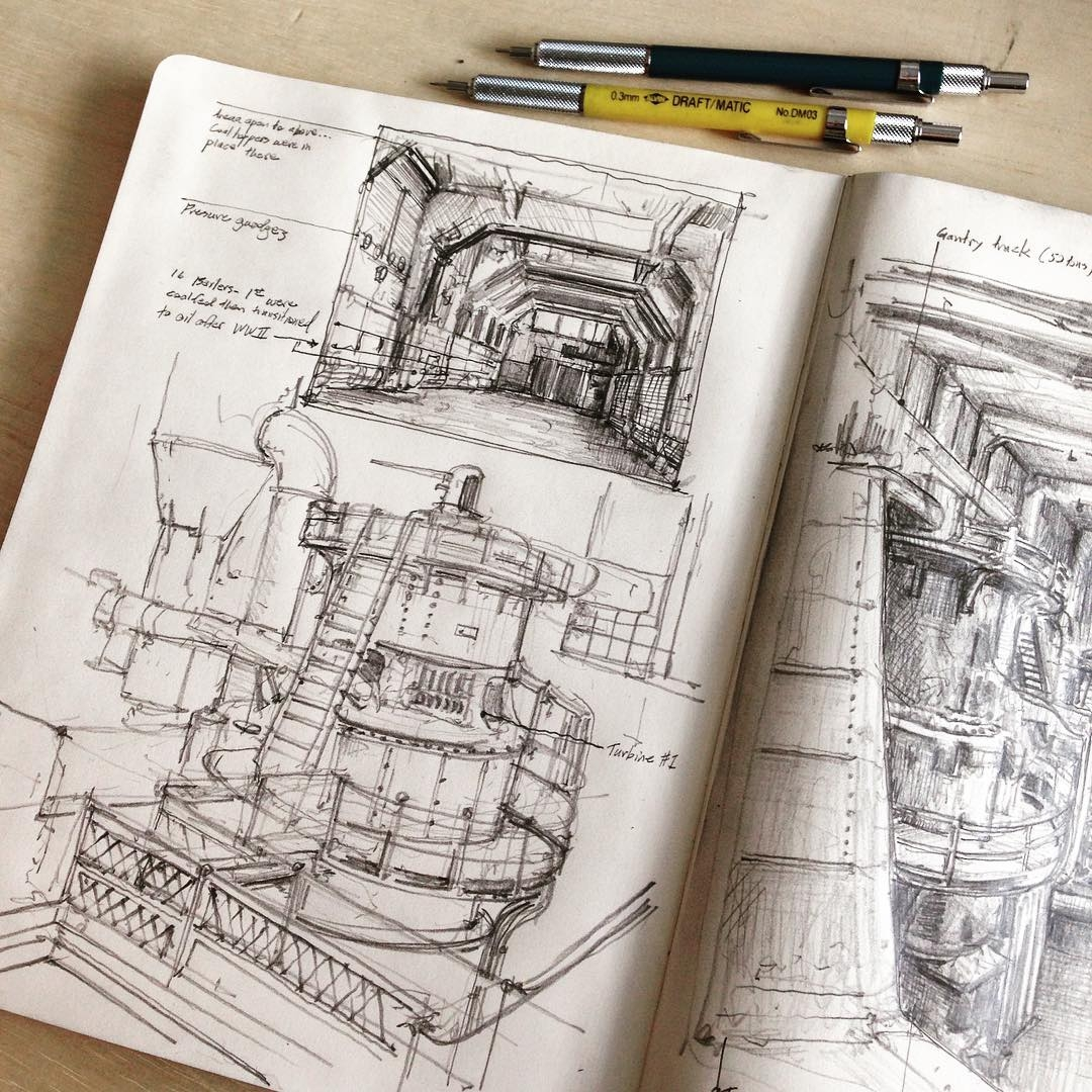 03-Georgetown-Steam-Plant-Jerome-Tryon-Observations-and-Ideas-in-Moleskine-Drawings-www-designstack-co