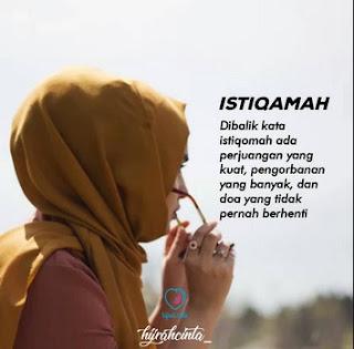 Kata Kata Hijrah Istiqomah