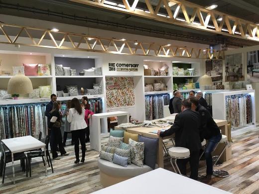 Climent traslada el apoyo del Consell a las 80 empresas valencianas que exponen en Heimtextil 2019
