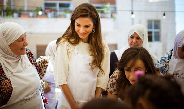 She attended the New English School in Jabriya, Kuwait, then received a degree in Business Administration from the American University in Cairo
