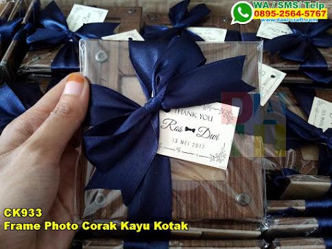 Grosir Frame Photo Corak Kayu Kotak