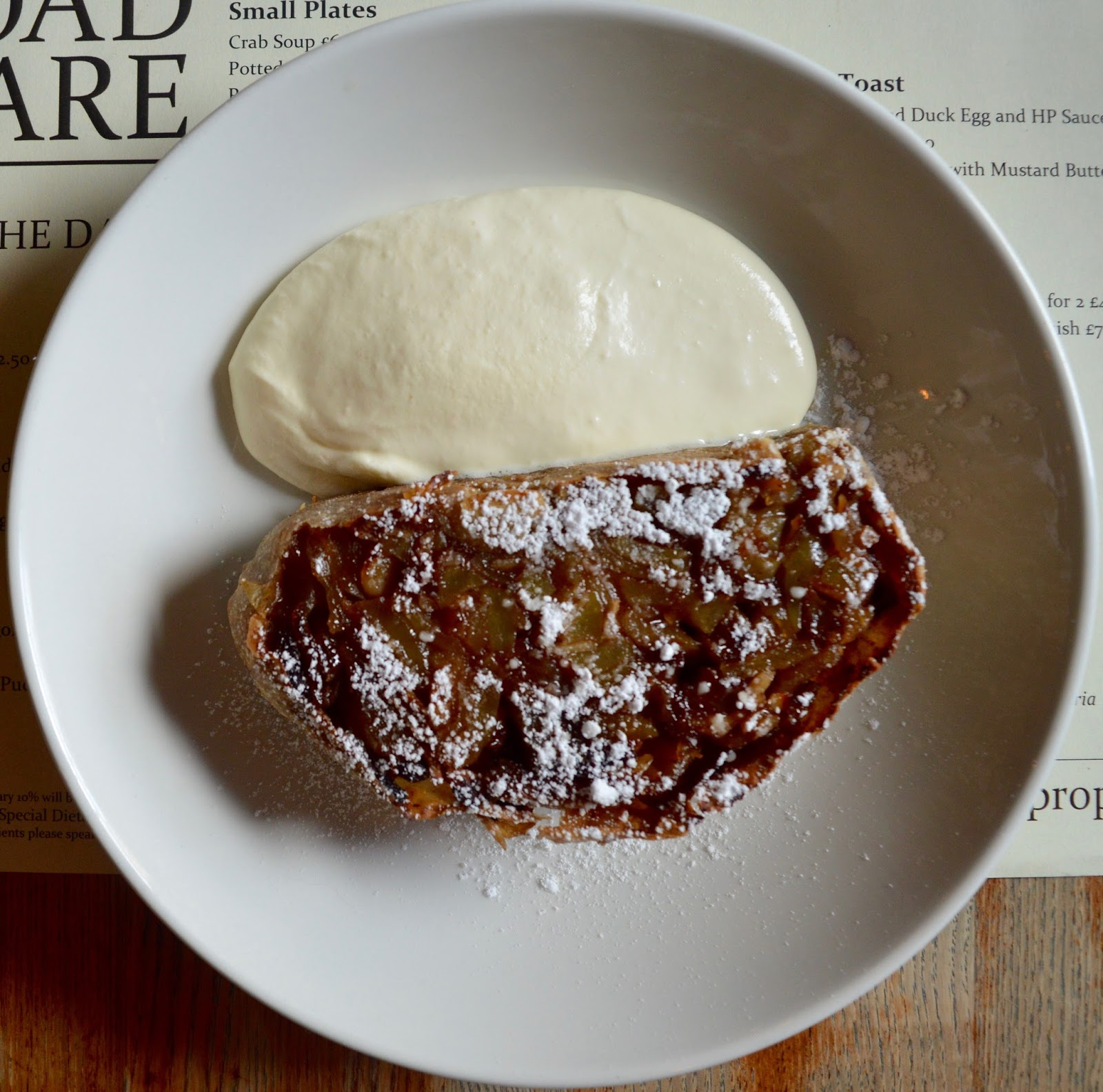 Oktoberfest 2016 | The Broad Chare Newcastle - Apple Strudel and Cream