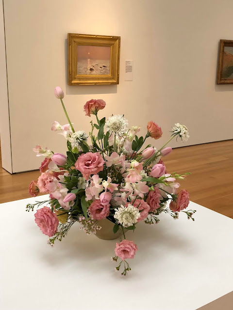 Art in Bloom in Raleigh NC at NCMA
