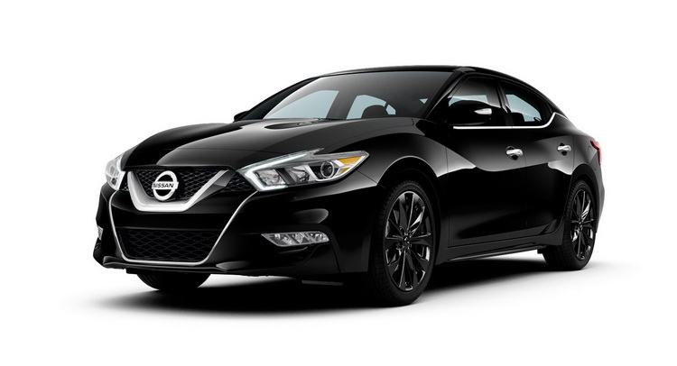 2016 nissan maxima sr gains sporty midnight edition pack. Black Bedroom Furniture Sets. Home Design Ideas