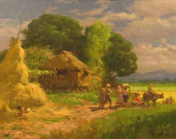 Secret Garden 183 168 168 Paintings Of Fernando Amorsolo