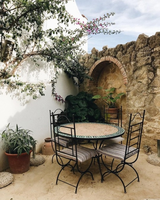 small summer garden