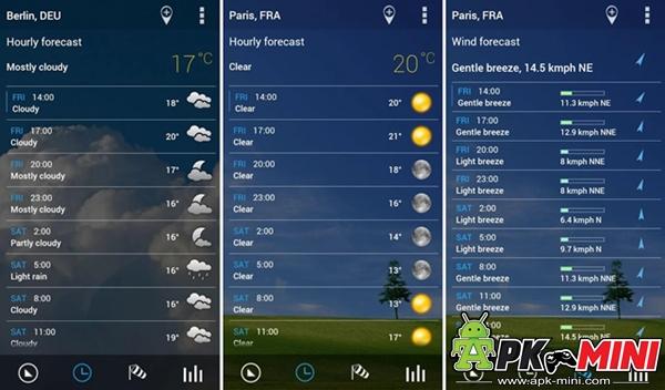 นาฬิกาใสและสภาพอากาศ Pro.Apk
