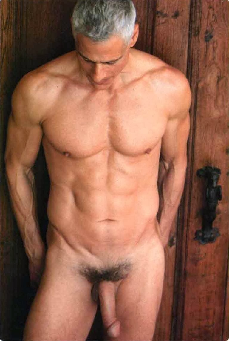 Amusing nude mature men