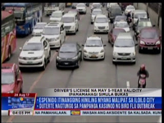 Driver's License 5 Years Valid, five years valid DL, identification cards, LTO Central Office, LTO to release first batch of 5-years-old-valid driver's license,