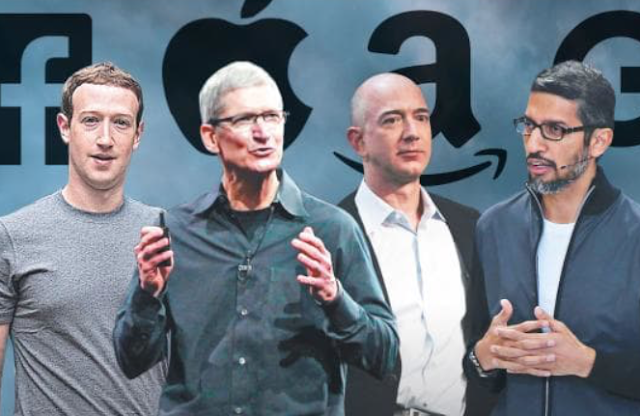 Amazon, Apple, Google and Facebook: the menacing march of the tech titans