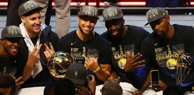 Golden State Warriors - 2018 champion