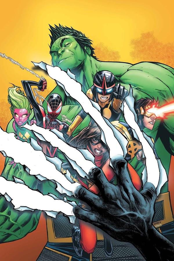 humberto ramos marvel champions comics