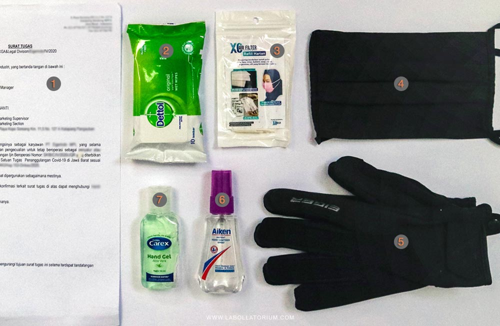 WFO Check - Anti Corona Survival Kit ala Labollatorium.com