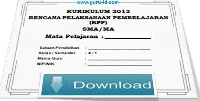 gambar RPP PKN SMA Kurikulum 2013 Revisi