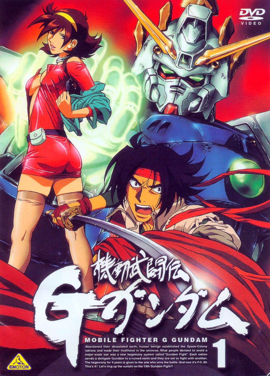 Anime asteroid recensione mobile fighter g gundam for Domon gundam build fighters