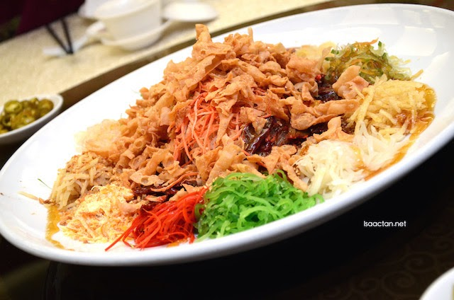 Barbeque Lamb Yee Sang