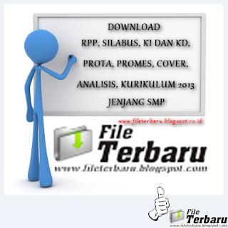 Download RPP, Silabus, Prota, Prosem, KKM, SK KD Kurikulum 2013 Jenjang SMP PKn Kelas VII Lengkap 2016