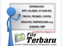 Download RPP, Silabus, Prota, Prosem, KKM, SK KD Kurikulum 2013 Jenjang SMP Bahasa Indonesia VIII Lengkap 2016