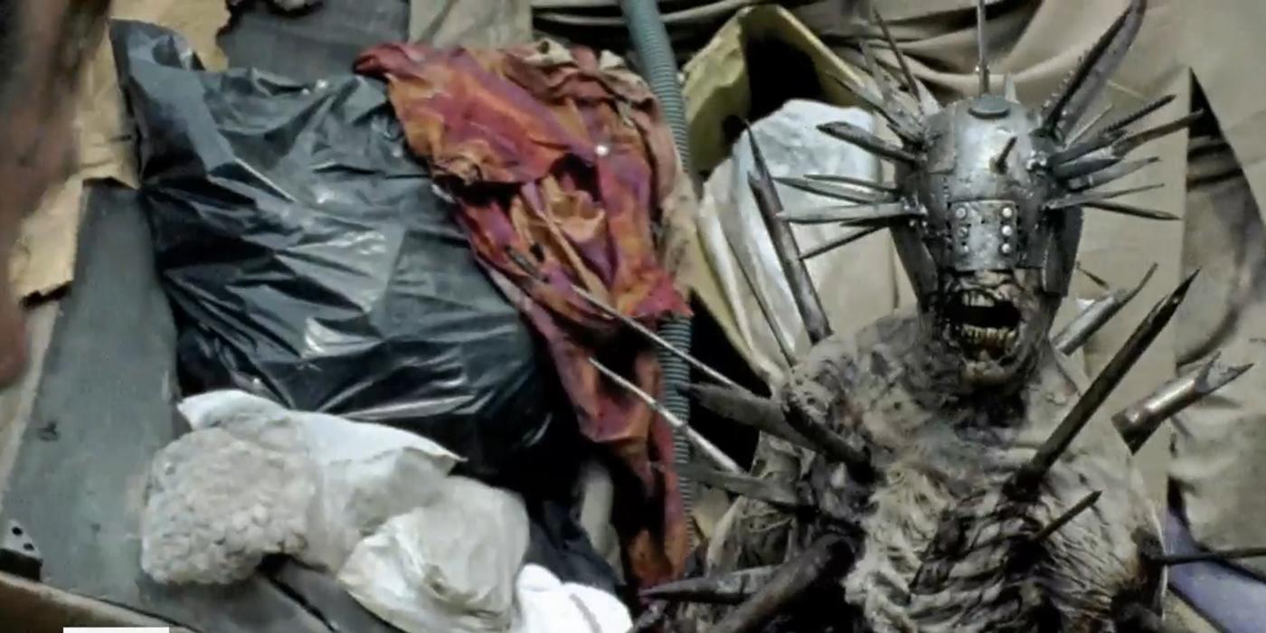 El zombie gladiador, en New Best Friends de The Walking Dead