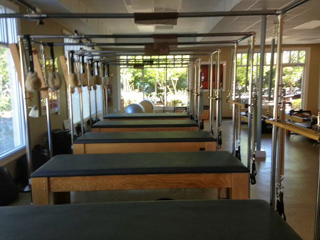 reupholstery of pilates machines