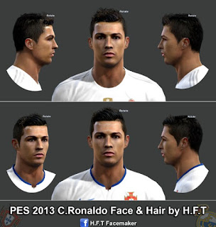 Face Cristiano Ronaldo 2016 PES 2013