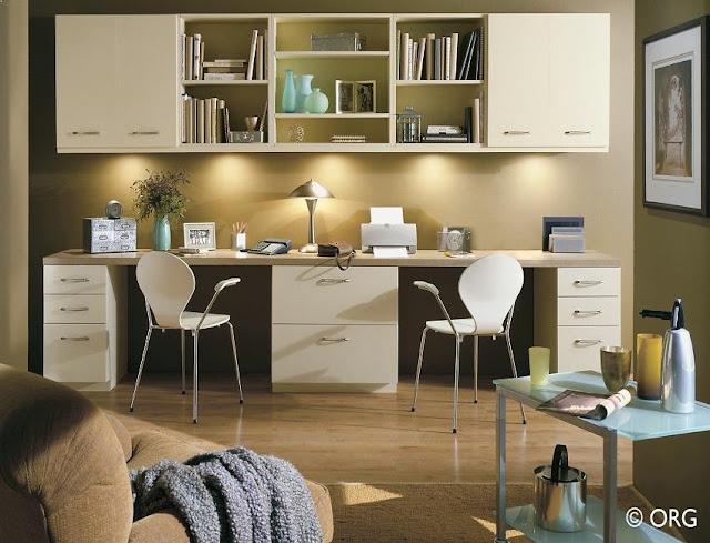 best custom home office furniture double desks for sale