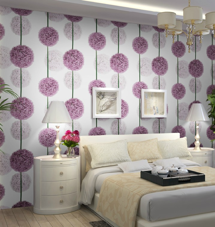 purple wallpaper for bedroom walls foundation dezin amp decor 3d wallpapers for bedroom 19573