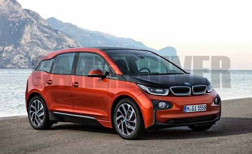 Bmw I5 With 300 Km Range Expected By 2017 Electric Vehicle News