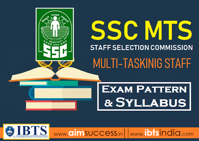 SSC MTS Syllabus & Exam Pattern 2019 (Download PDF)