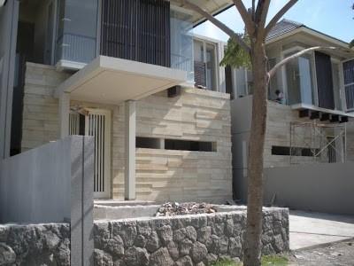 model rumah batu alam 1