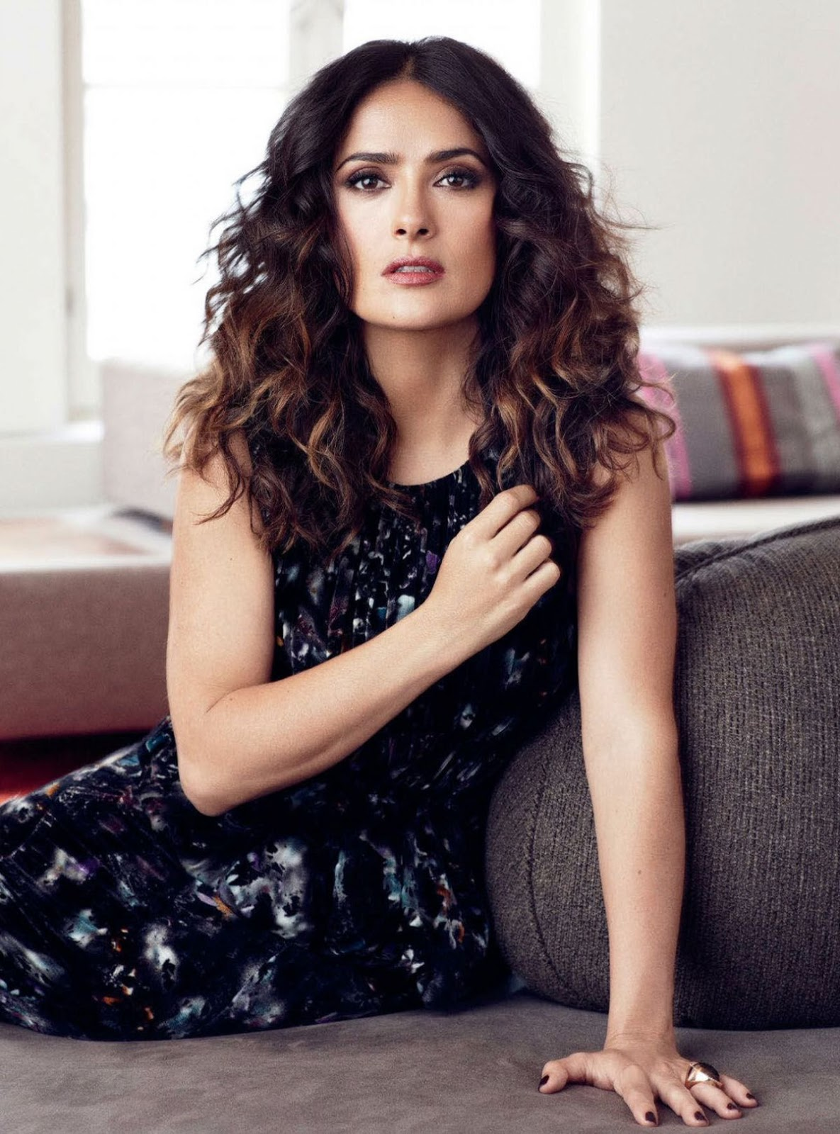 Salma Hayek HQ Photo Shoot for Next Magazine September 2016_2
