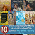 10 Great Living Books for Middle Grade Kids to Read This Summer *And a FREE Printable Reading Packet