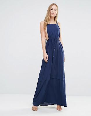 vestidos largos con botas