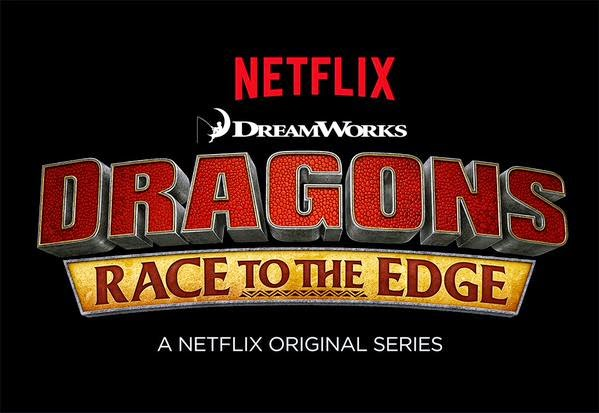 DreamWorks Dragons: Race to the Edge Logo