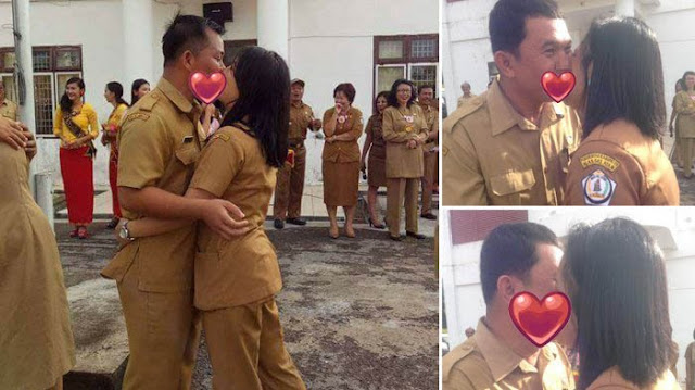 Heboh!! PNS Ciuman Masal Rayakan Valentine. Hari Gini??