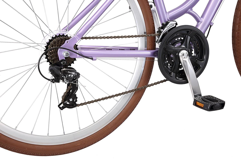 Exercise bike zone schwinn capitol women 39 s hybrid bicycle for Suspension sdb