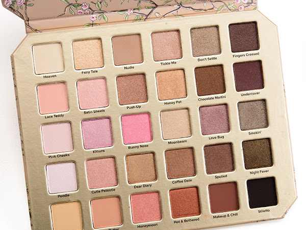 Preciso disto na minha vida #3 - Paleta Too Faced Natural Love