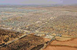 campo refugiado sirio en Jordania, la globalización de la violencia